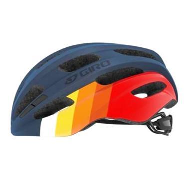 Imagem de Capacete Ciclismo Bike Giro Isode Original Speed Mtb (Azul Vermelho Laranja (Fosco), Ajustável (U 54-61))