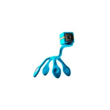 Imagem de Tripé Polaroid Flexipod para Cube HD, Versátil e Flexível, Azul - POLPODBL