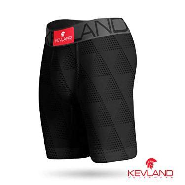 Imagem de Cueca Boxer Long Leg Kevland Pure Sport II Tamanho:G;Cor:Cinza