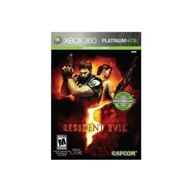 Jogo Resident Evil 5 Lacrado Xbox 360 Platinum Hits