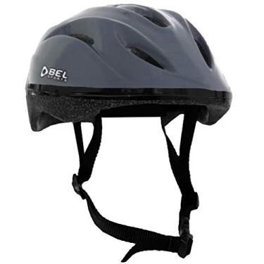 Imagem de Capacete Infantil Cinza Juvenil Para Bike Tsw Tamanho Grande Resistente Proteção Contra Tombos Bicicleta Bel Sports