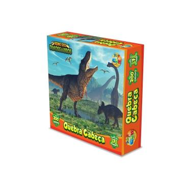 Imagem de Quebra cabeça Reino dos Dinossauros 200 peças