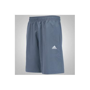 3756f7c79b Bermuda adidas Sequentials Tenis - Masculina - CINZA ESCURO adidas