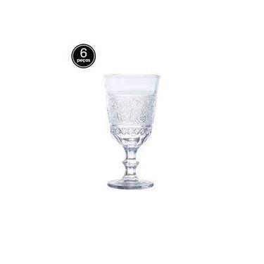 Conjunto 6pçs Taças Rojemac Para Vinho Buske 250Ml Bon Gourmet