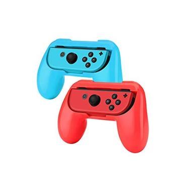 Case Grip Par De Controle Para Joy Con Nintendo Switch