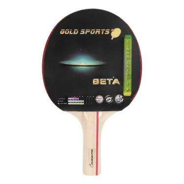 Raquete Tenis De Mesa Gold Sports Beta - Unissex