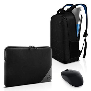 "Imagem de Combo Mochila para Notebook Dell Essential 15.6"" + Mouse Wireless MS3320W + Capa para Notebook 15,6"""