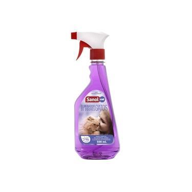 Desodorizador de ambientes Eliminador de Odores para Gatos Sanol Vet Anti odores Spray 500ml