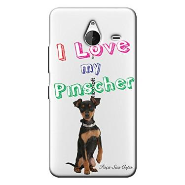 Capa Personalizada para Microsoft Lumia 640 XL Pinscher - TP81