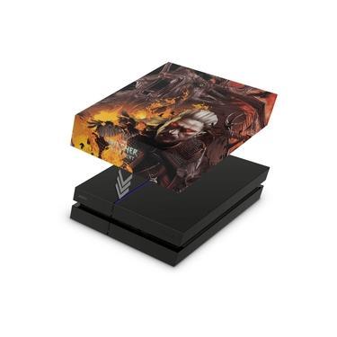 Capa Anti Poeira para PS4 Fat - The Witcher #B