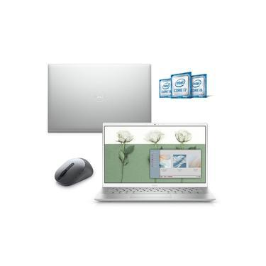 "Imagem de Kit Notebook Ultraportátil Dell Inspiron 5301 13.3"" FHD 11ª Ger. Core i7 8GB 512GB SSD+32GB Intel Optane Win 10 + Mouse"