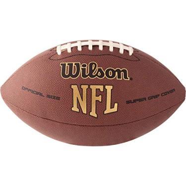 Bola de Futebol Americano Super Grip Tradicional Wilson