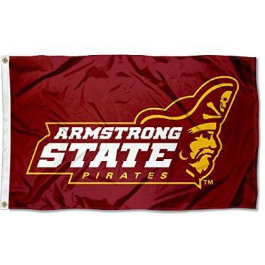 Bandeira da faculdade Armstrong Pirates