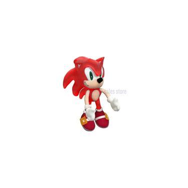Imagem de Pelúcia Boneco Ouriço Fofinho Coleção Tipo Turma Do Sonic vermelho