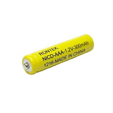 Pilha recarregável AAA 11x45mm 1,2V 300mAh C/04 Rontek