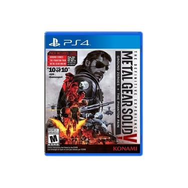 Metal Gear Solid V The Definitive Experience Greatest Hits - Ps4