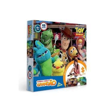 Imagem de Quebra Cabeça Grandão Toy Story 4 48 Peças - Toyster