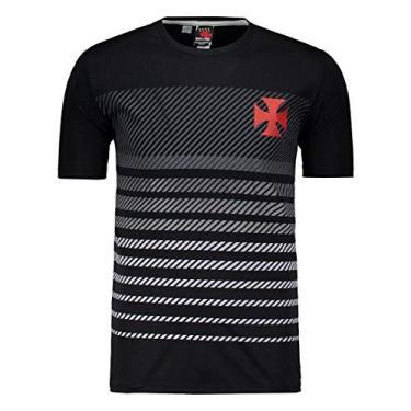 Camisa Vasco Graphic Degradê Preta