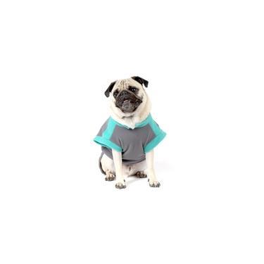 Roupa de Frio Camiseta Básica para Cachorro e Gato Pet - TAMANHO 02 - Cinza - Bichinho Chic