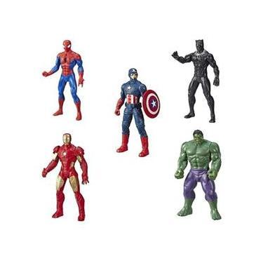 Kit Bonecos Vingadores Marvel 25cm E5556