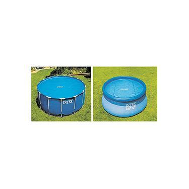 Capa Aquecedora p/ Piscina Circular 549cm - Intex