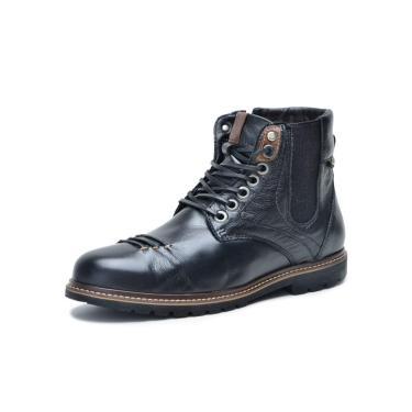 Bota Sandalo Lord Preto  masculino