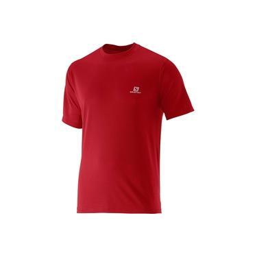 Camiseta Salomon Comet SS Vermelho Masculina