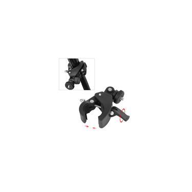 Imagem de Suporte de câmera de guiador, suporte de câmera de bicicleta ajustável profissional, suporte de guiador Gopro, durável para câmeras preto Gopro de alt