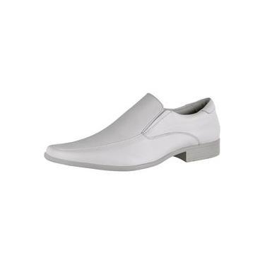 Imagem de Sapato Social Masculino Linha Branca Conforto Gofer 0261 Gf Branco