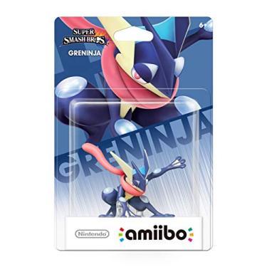 Boneco Amiibo Super Smash Bros Pokémon Greninja Nintendo