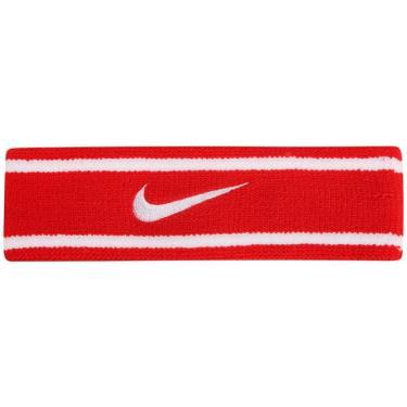 Testeira Nike Dri-Fit Headband - vermelho-branco