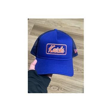 Boné NewEra Aba Curva Knicks Nba Trucker Azul