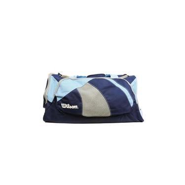 Bolsa De Viagem Wtis13346D Azul E Cinza - Wilson