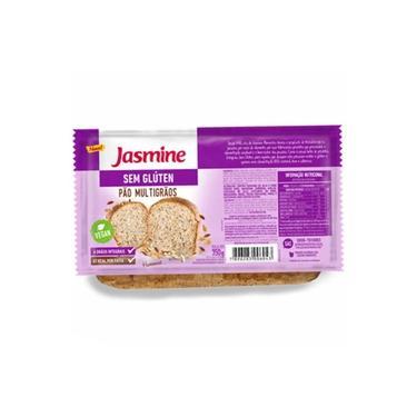 Pão Multigrãos Sem Glúten 350g Jasmine