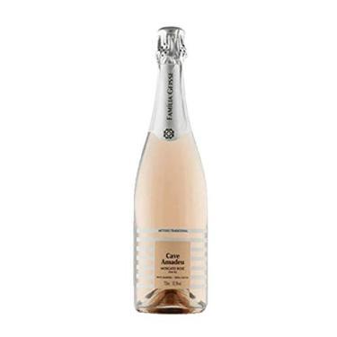 Espumante Cave Amadeu Moscato Rosé 2020 750 ml 10,5%