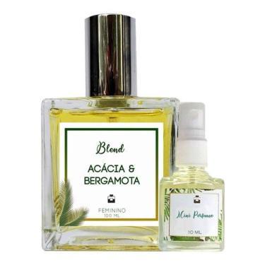 Imagem de Perfume Acácia & Bergamota 100ml Feminino - Blend de Óleo Essencial Natural + Perfume de presente