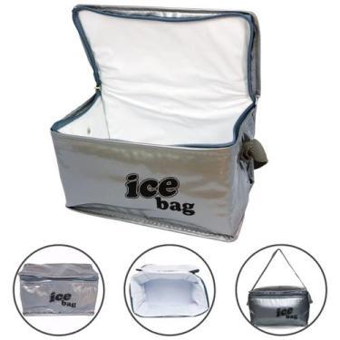 Imagem de Bolsa Termica Pequena 3 Litros Marmita Alimento Fitness - Bag Freezer