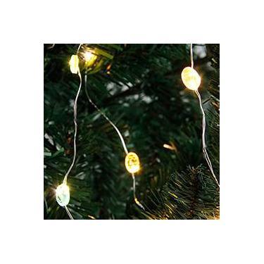 """Pisca """"Time"""" a Prova d'Água 20 Lâmpadas Luz Colorida - Christmas Traditions"""