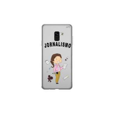 Capa Personalizada para Samsung Galaxy A8 Plus ( A8+ ) - JORNALISMO - Quark