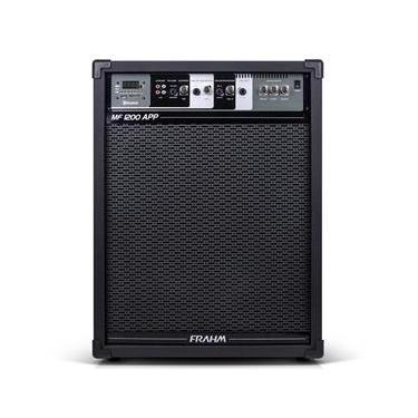 Caixa Multiuso MF1200 APP 160W Preta 31237 - Frahm