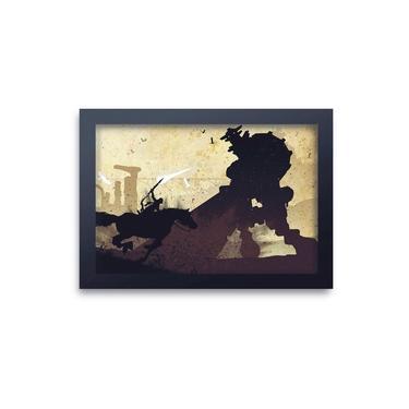 Quadro Decorativo Shadow Of The Colossus 01