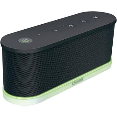 Caixa De Som Isound - Bluetooth - Iglowsound Waves - 5423 - Preta