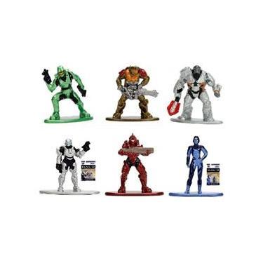 Imagem de Halo Action Figure Coleção Kit Nano Metalfigs