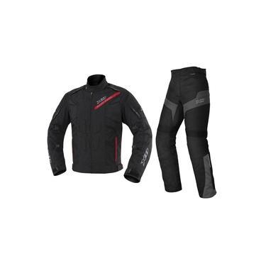 Jaqueta X11 Evo 3 Impermeável + Calça X11 Ultra 2 Com Proteção