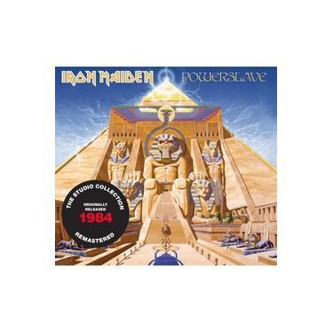 Cd Iron Maiden Powerslave 1984 Remastered