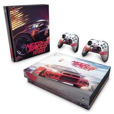 Skin Adesivo para Xbox One X - Need For Speed Payback