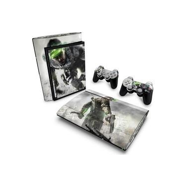 Skin Adesivo para PS3 Super Slim - Splinter Cell Blacklist