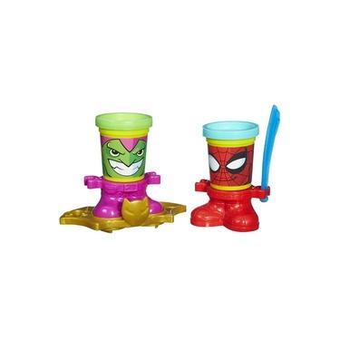 Imagem de Play Doh-Marvel 2 Potes Spider Man E Green Goblin B0744 Hasbro B0594