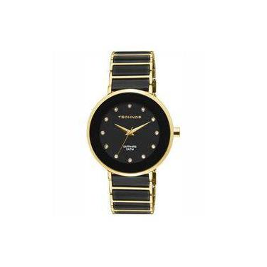 d0527688929 Relógio Technos Feminino Elegance Ceramic Sapphire Analógico 2035LMM 4P