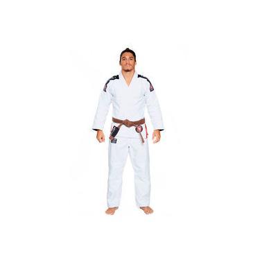 Kimono Jiu Jitsu Atama Trançado Ultra Light 2.0 - Branco